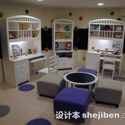 儿童房书架设计