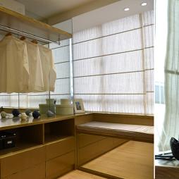 现代风格样板房衣帽间装修效果图