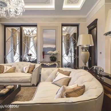 新古典风格客厅装修效果图欣赏