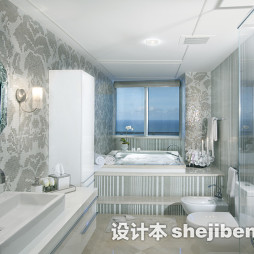 最新浴室马赛克贴图片