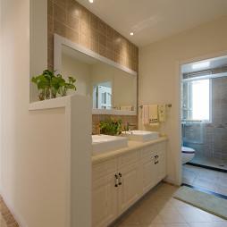 美式卫浴贴砖装修图片