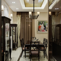 中式风格客厅隔断图片集