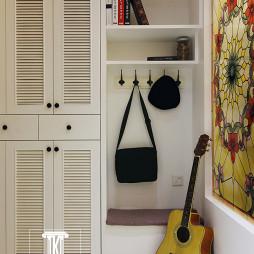 美式风格玄关鞋柜装修图片欣赏