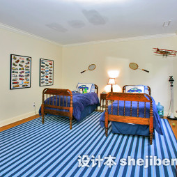 淡蓝色房间家装效果图大全