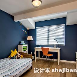 淡蓝色房间设计图片
