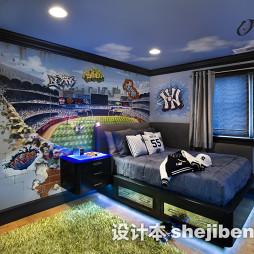 淡蓝色房间效果图大全欣赏