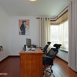 现代风格书房窗户设计