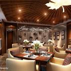 混搭风格茶餐厅装修图