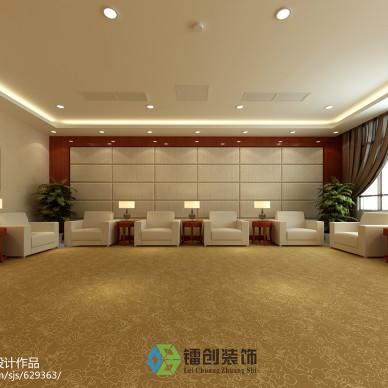 滨州市某企业接待室装饰设计方案_1541688