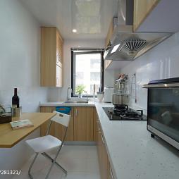 现代厨房吊顶装修图