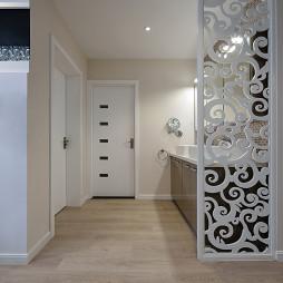 现代风格客厅隔断设计
