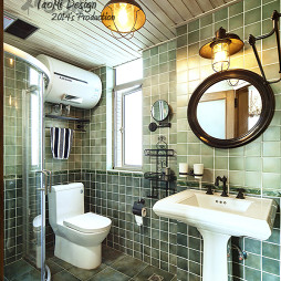 美式卫生间装修设计