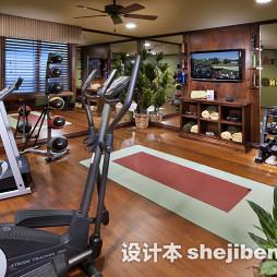 家庭健身房装修设计效果图大全