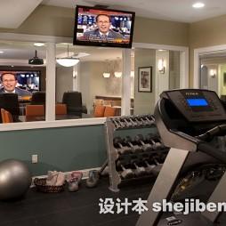家庭健身房效果图片大全欣赏