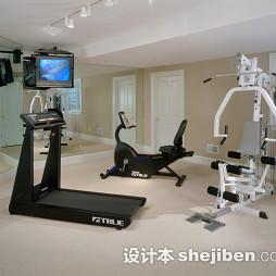 家庭健身房效果图库展示