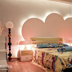 现代风格客厅卧室背景墙装修效果图