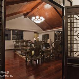 中式风格阁楼装修效果图