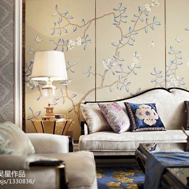 客厅沙发背景墙效果图库欣赏