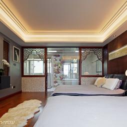 中式卧室隔断装修