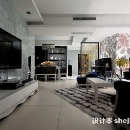 四室一厅户型图效果图