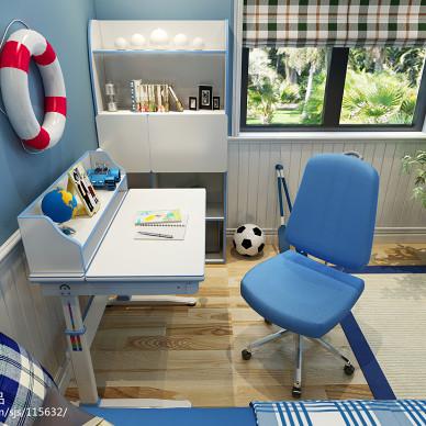 电脑桌 儿童电脑桌效果图 代做家具效果图_1571568