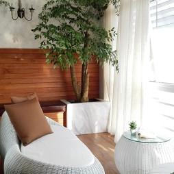 办公室大型绿色植物展示图