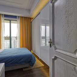 精致欧式卧室窗帘设计