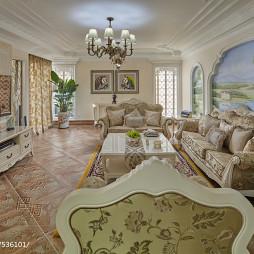 欧式客厅室内装饰设计效果图库