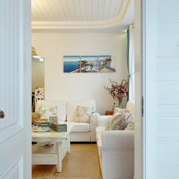 地中海客厅装修效果图欣赏