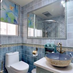 地中海卫浴装修效果图