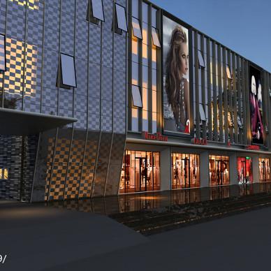 大市场建筑物外观设计图片