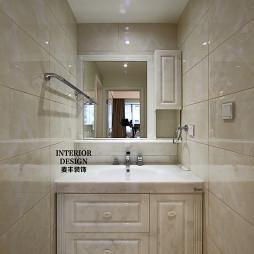 现代欧式卫生间台盆柜装修图片