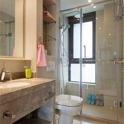 现代卫生间淋浴装修图片