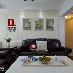 2017美式风格客厅装修设计