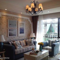 地中海客厅吊顶设计