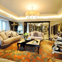 欧式风格客厅装修设计案例图片