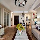 简约美式客厅布艺家具装饰效果图