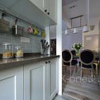 美式不锈钢厨房挂件效果图