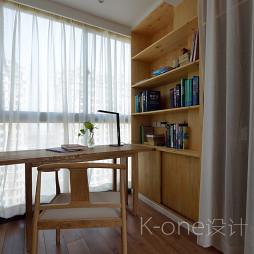 现代书房窗帘图片