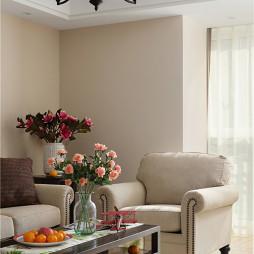 美式风格客厅隔断设计
