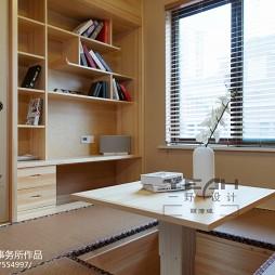 日式书房书柜图片