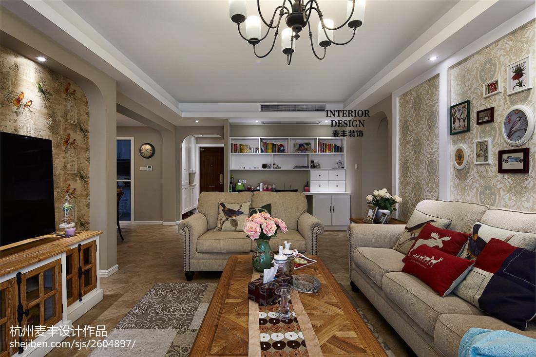 电视背景墙木雕图案_美式客厅花鸟图案电视背景墙设计 – 设计本装修效果图