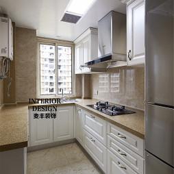 简约美式厨房石英石橱柜台面