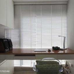 现代极简风格书房窗户装修