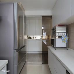 现代厨房石英石橱柜台面