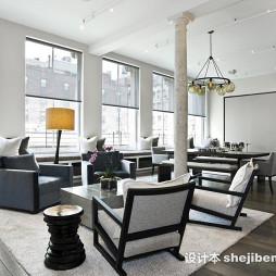 2017年新款客厅灯具装修效果图片