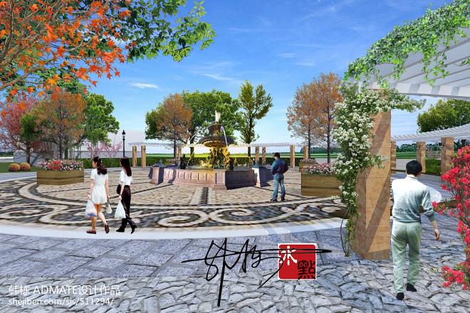 泰安高端小区绿化工程_1612205
