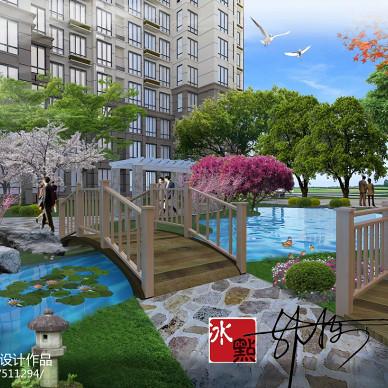 泰安高端小区绿化工程_1612206