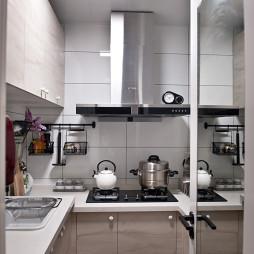 小户型混搭厨房装修效果图