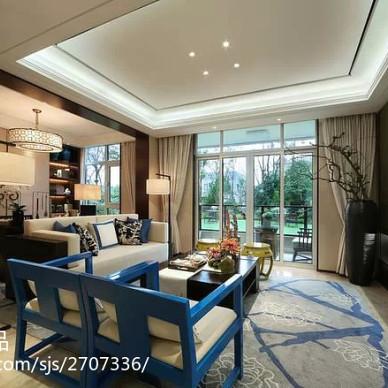 新中式设计住宅-著名设计师陈忆作品_1613931
